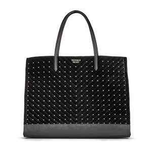 VS Studded Tote, NWT